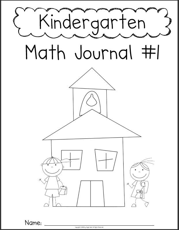 Common Core Math Journal for First Grade Number of the Day