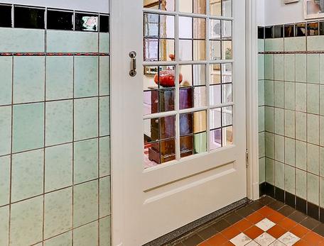Originele tegels jaren 30 mozaiek.com jaren 20 & jaren 30 woning