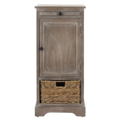 Beachcrest Home Blaclava 1 Door Accent Cabinet Color Vintage White Accent Doors Accent Cabinet White Vintage