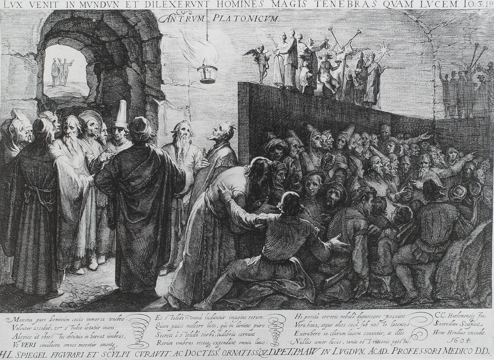Platon Cave Sanraedam 1604 - Allegory of the Cave - Wikipedia ...