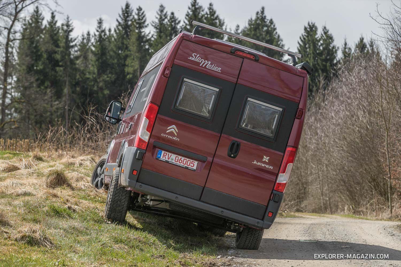 Für Einsteiger Klasse Citroën Jumper AllradWohnmobil