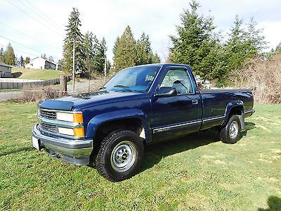 1995 Chevy Silverado 4 4 2500 3 4 Ton For Sale Chevy Silverado