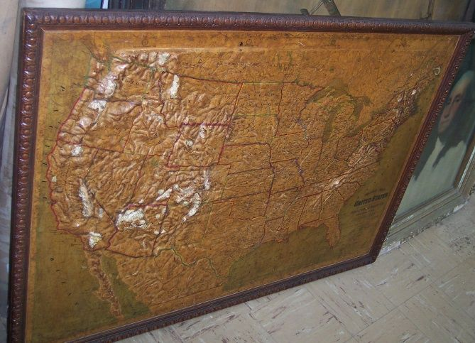 relief map of the united states atlas school supply co us cs published atlas school supply co 1907 chicago