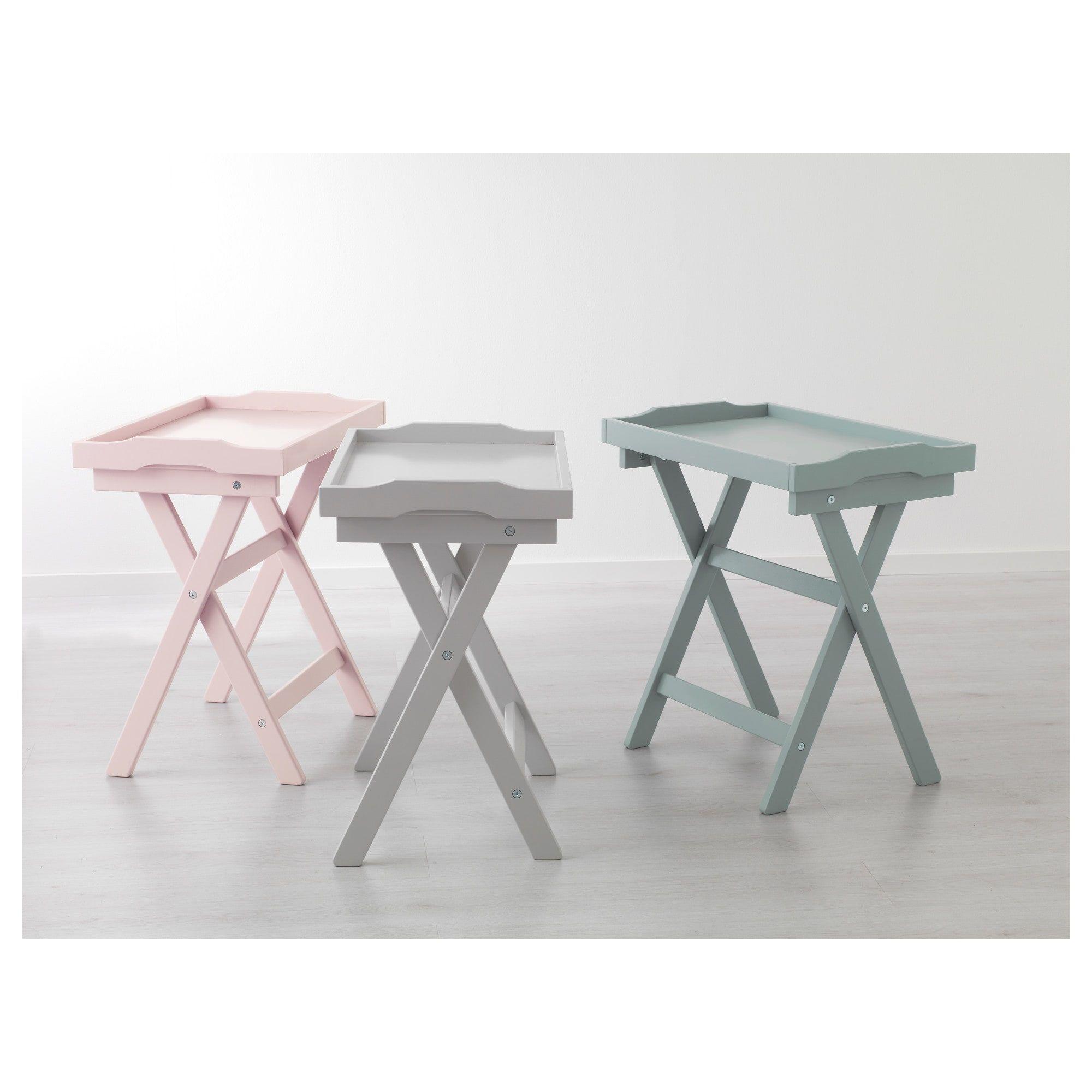 - MARYD Tray Table - Green 22 7/8x15x22 7/8