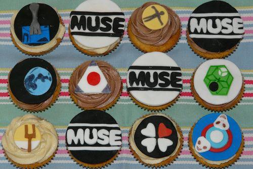 #Muse Cupcakes