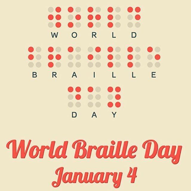 It's World Braille Day! Happy Birthday To Louis Braille