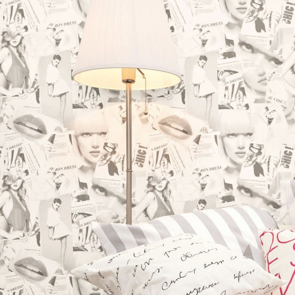 Papel pintado Caselio Love Ref. LOV63919091 letras