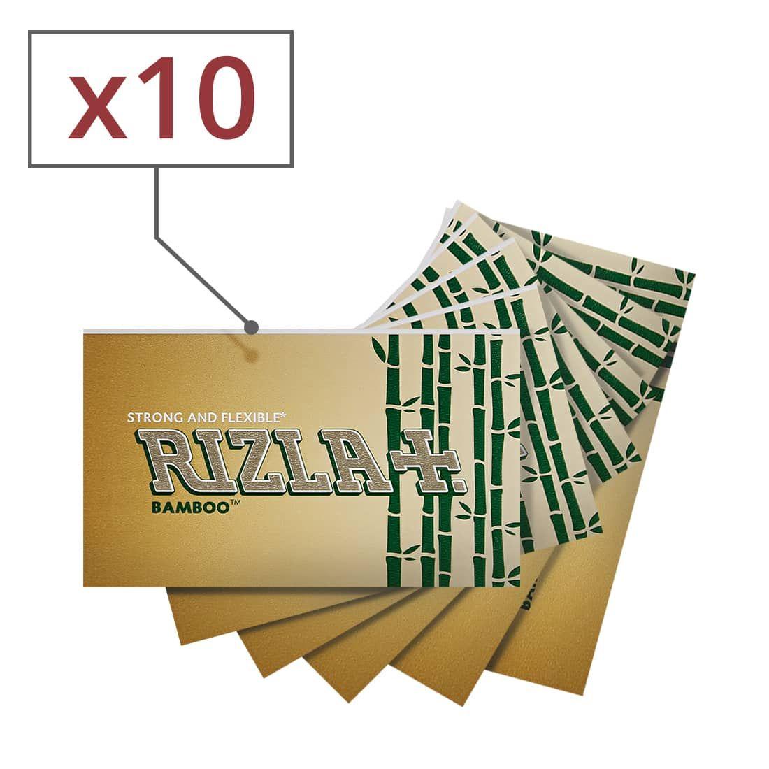 Papier à Rouler, Feuille Carnet JASS Régular  Lot de 10 Carnets