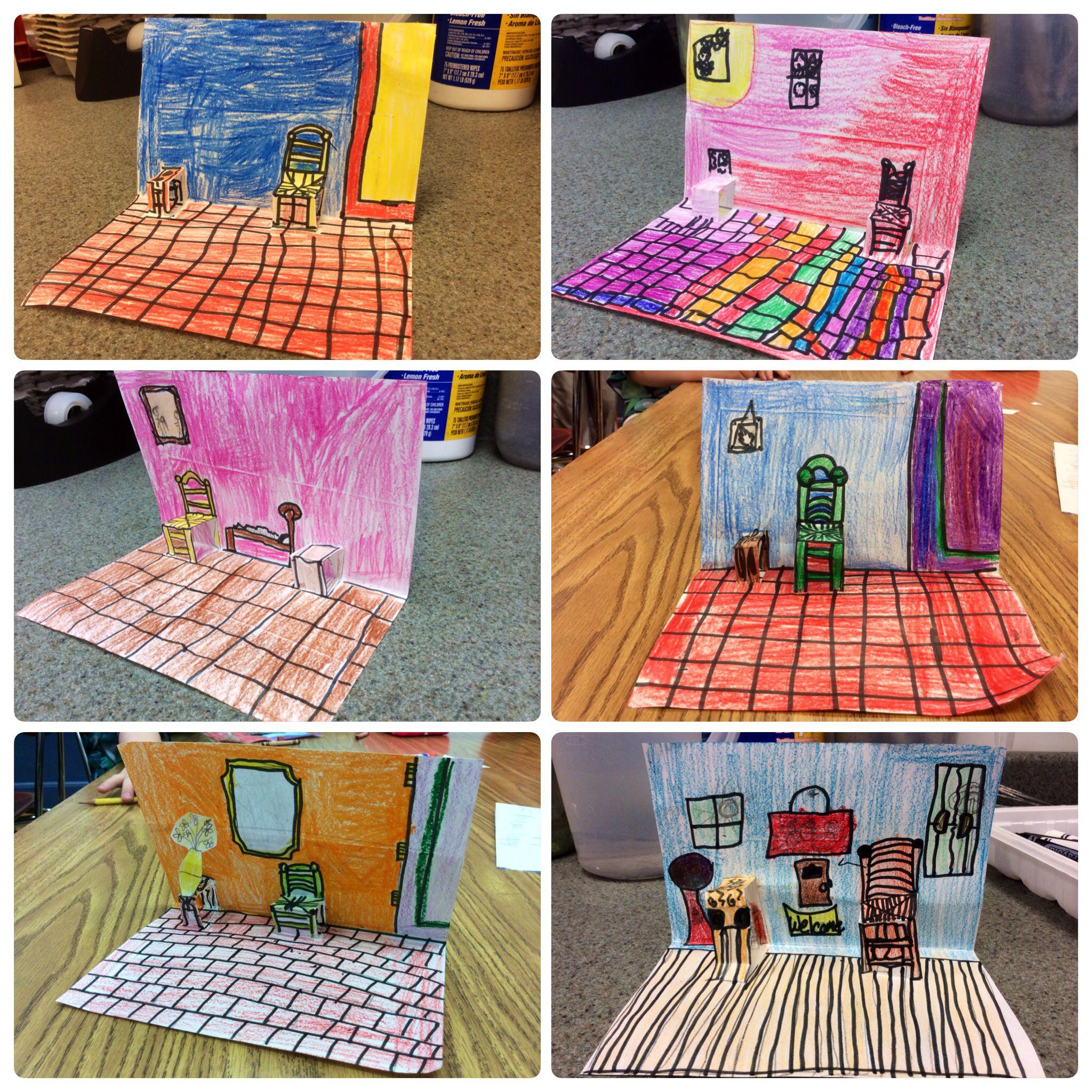 Children S Pop Up Chairs Office On Sale Vincent Van Gogh 3rd Grade My Teaching