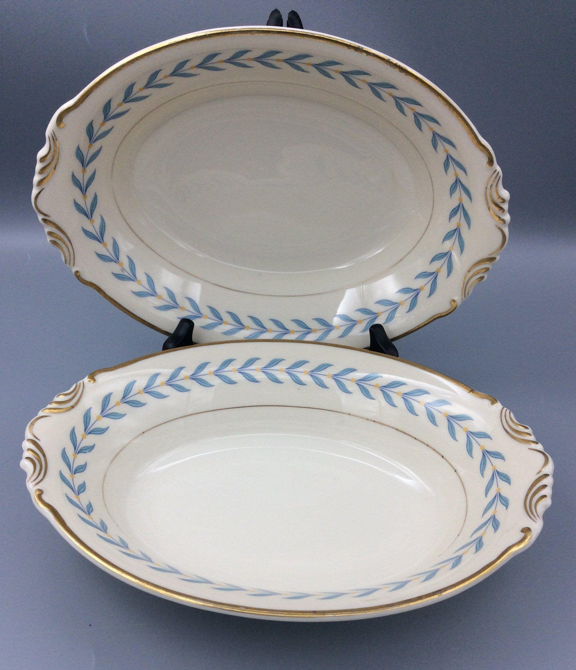 Syracuse Old Ivory Sherwood Pattern