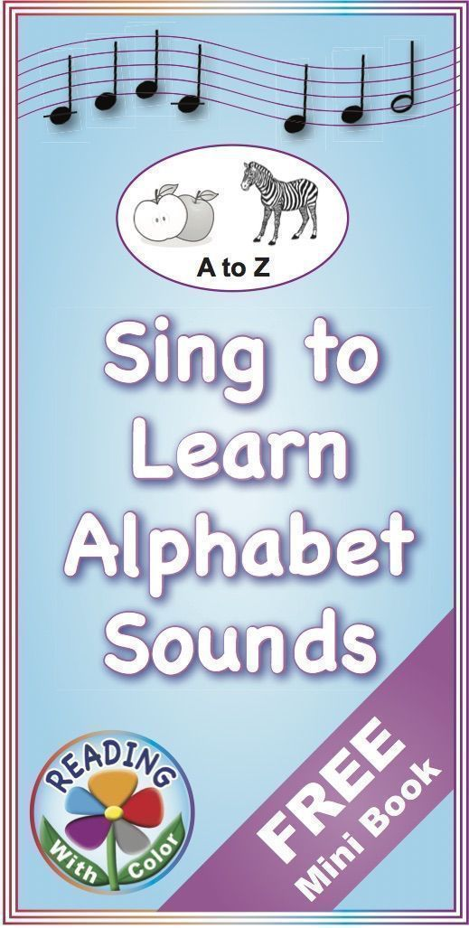 FREE Mini Book: The Alphabet in Rhyme and Song   TPT Pinning Board ...