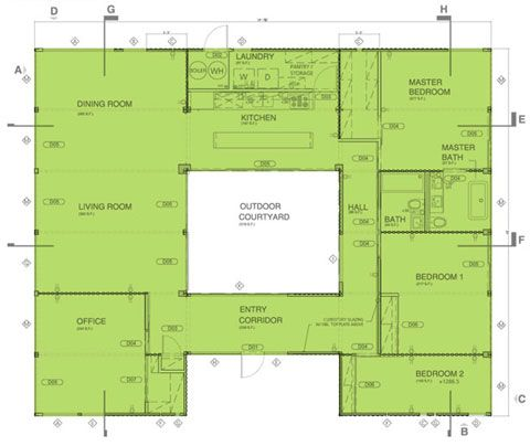 Pre built house plans home design and style for Blueprints for homes already built
