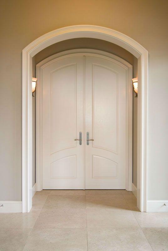 Entry Way And Door To Walk In Closet Arched Interior Doors