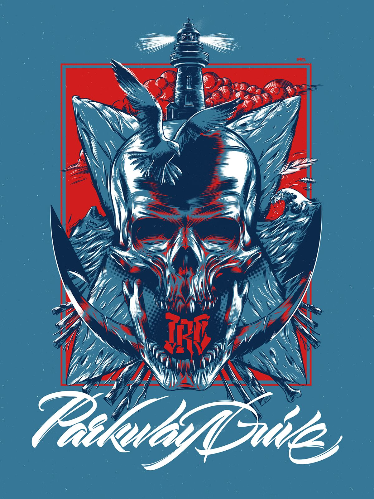 Parkway Drive. Ire. on Behance Parkway drive, Drive