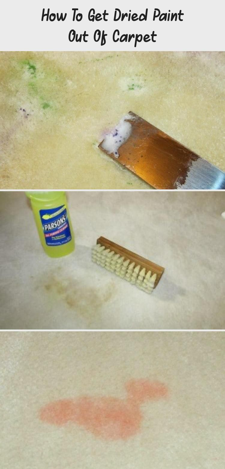 How To Get Dried Paint Out Of Carpet Diy Carpet How To Clean