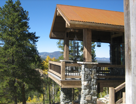 This Beautiful Custom Stone And Barnwood Home In Colorado Was Built By Terra Firma Homes