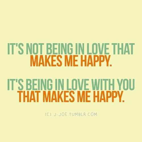 quotes about being in love and happy