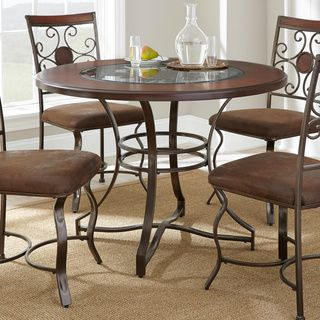 Torino 45Inch Round Dining Table  Overstock Shopping  Great Simple Circular Dining Room Table Inspiration Design