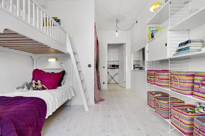 Post: Techos altos y diseño de interiores abierto ---> blog decoración nórdica, cocinas nórdicas, decoración en blanco, diseño de interiores abierto, diseño interiores diáfano distribución, estilo nórdico escandinavo, muebles de almacenaje, piso luminoso, piso nordico decoración, techos altos