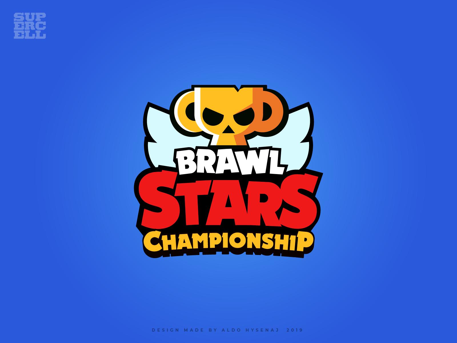 Brawl Stars Championship Logo In 2020 Brawl Logos Stars