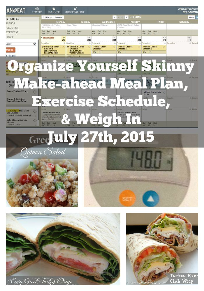 Make ahead meal plan exercise schedule and weigh in exercise make ahead meal plan exercise schedule and weigh in forumfinder Images