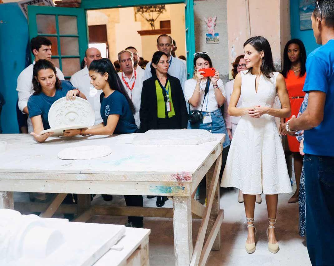 King Felipe and Queen Letizia Visit Cuba – Day 1 #visitcuba