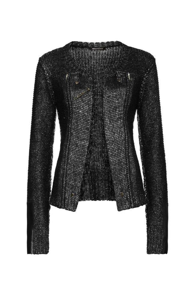 Damesmode, Expresso Vest Hemke is een cross over tussen een bikerjasje en een klassiek vest,  MEER  http://www.pops-fashion.com/?p=13148