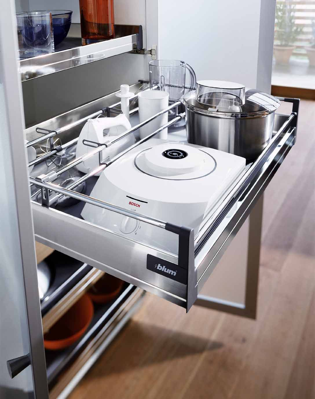 Blum tandembox renovation ideas pinterest kitchens for Kitchen cabinet accessories