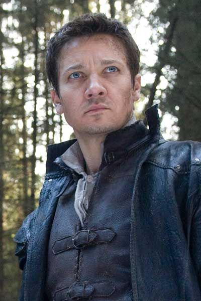 Jeremy Renner - as Hansel -- I can't wait for this movie to come out.
