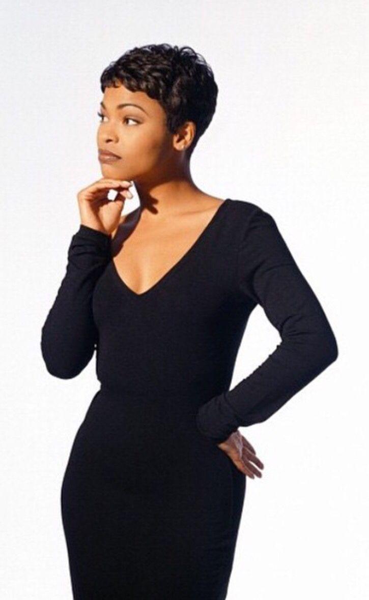 Pinterest: @amaurucusi  Nia long short hair, Black girl aesthetic