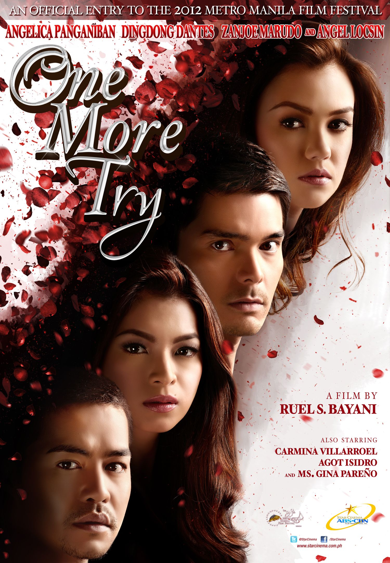 One More Try Official One Sheet Directed By Ruel S Bayani 25 12 2012 Pinoy Movies Full Movies Online Free Drama Movies