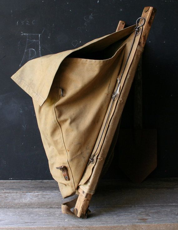 2bac6276f68 Vintage Trapper Nelson's Indian Pack Board Pack Chas by nowvintage, $120.00