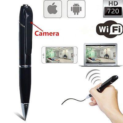 1080P HD Infrared Camera Meeting Voice Video Recorder Pen Portable Micro 2400mAh