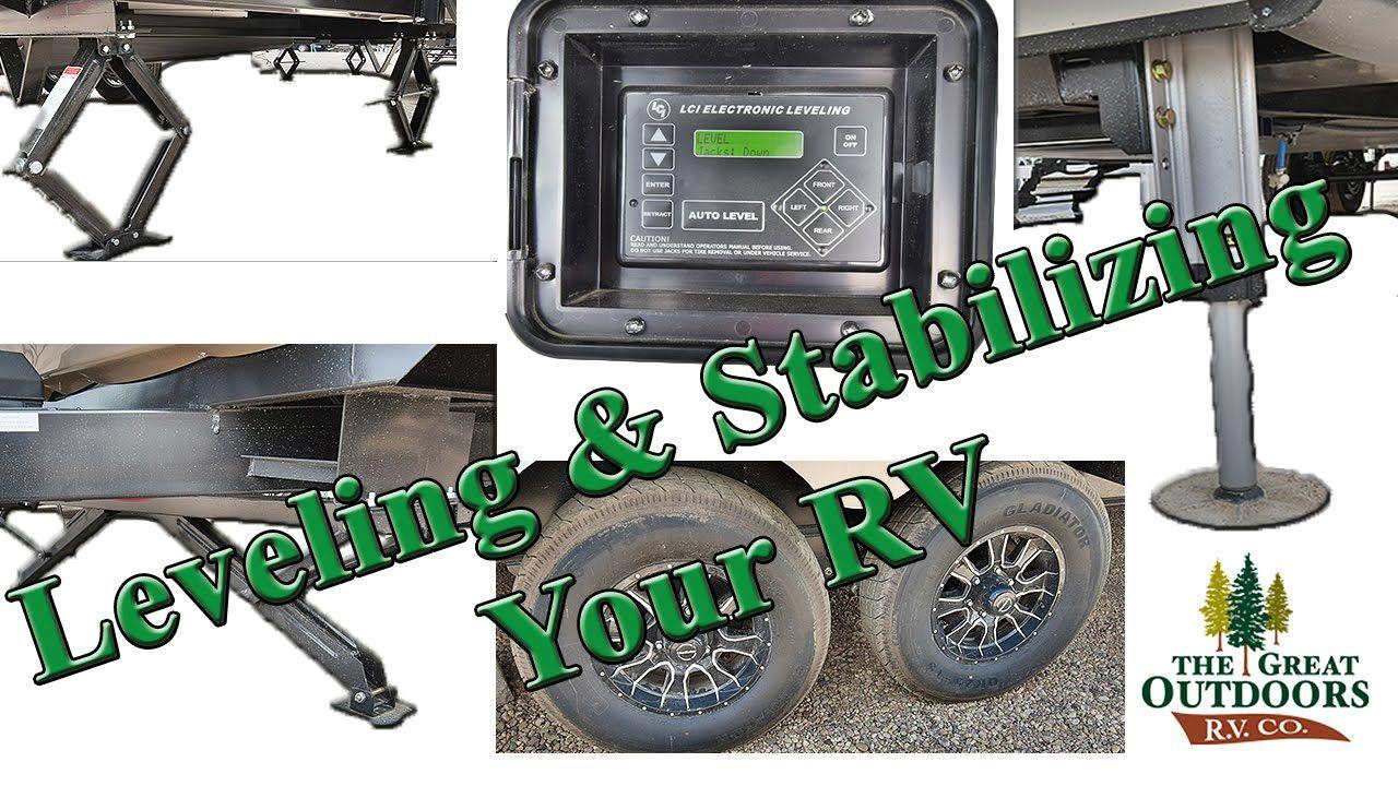 RV Leveling Stabilizing Level Camper Travel Trailer Colorado Tools
