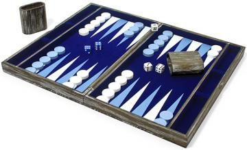 Classic Backgammon - Classic Games - Backgammon Travel Set - Family Game Set | HomeDecorators.com
