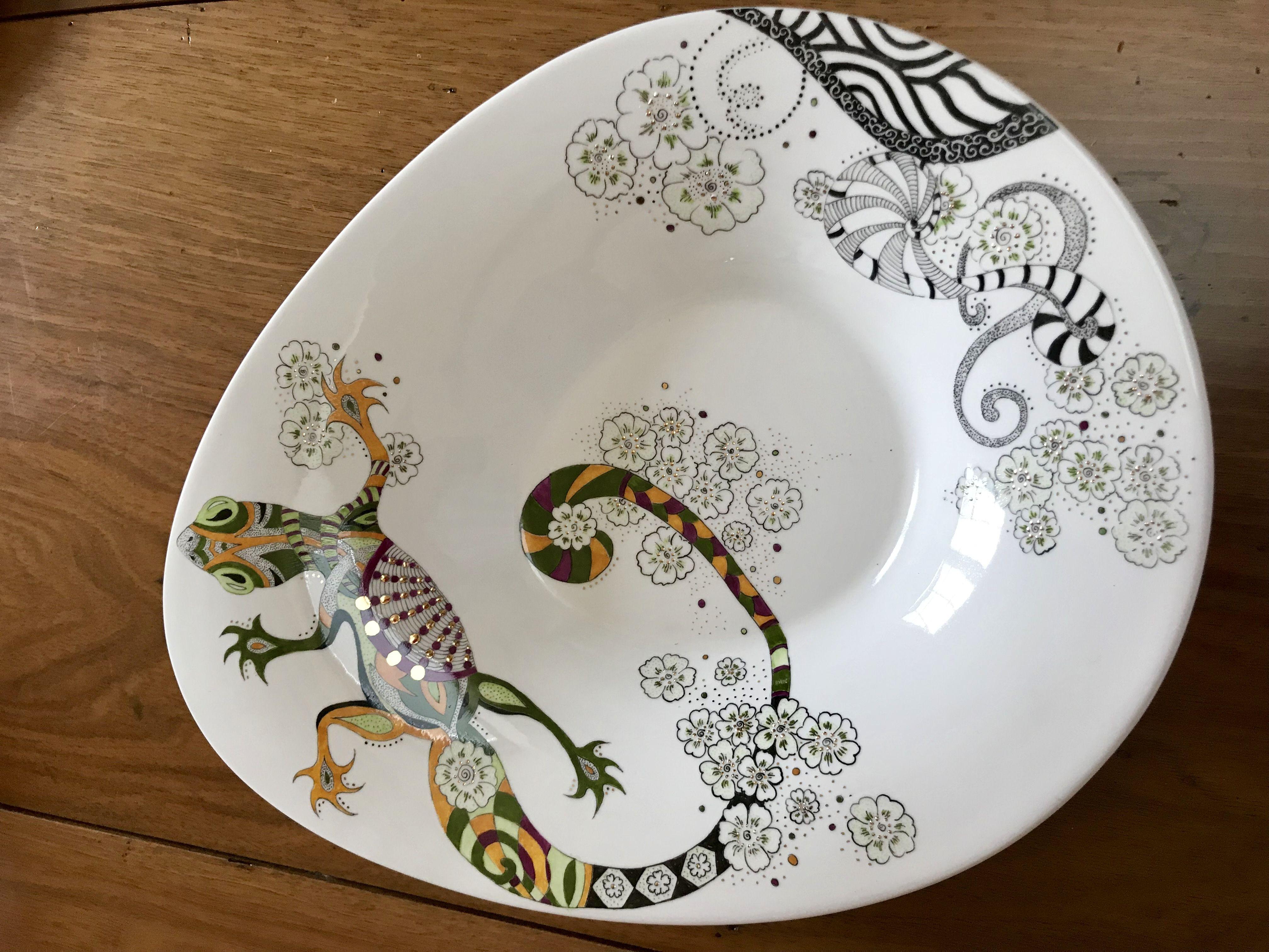 Peinture Sur Porcelaine Assiette Épinglé par gilberte sur porcelain | peinture sur porcelaine