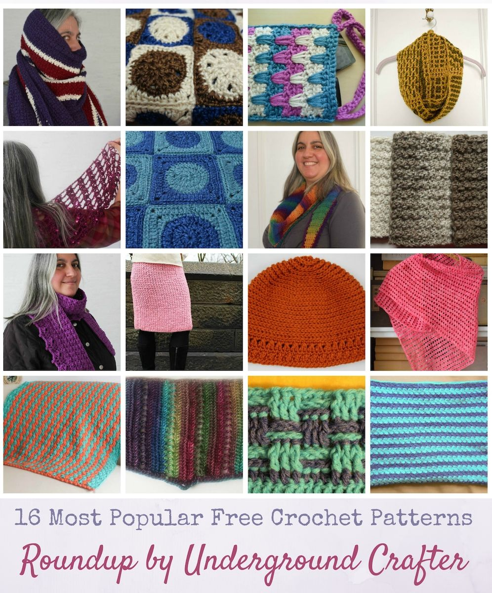 Roundup 16 Most Popular Free Crochet Patterns Of 2016 With