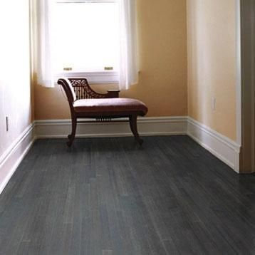 Bamboo Flooring Is Super Durable And Can Be Refinished Many Times. This  Charcoal Stain Is