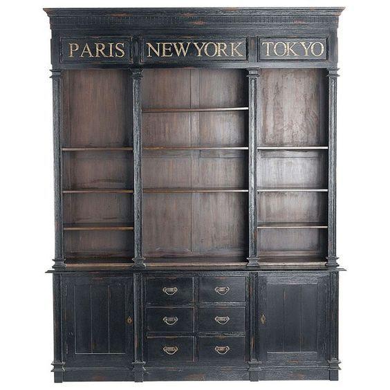 armoire loft maison du monde ventana blog. Black Bedroom Furniture Sets. Home Design Ideas