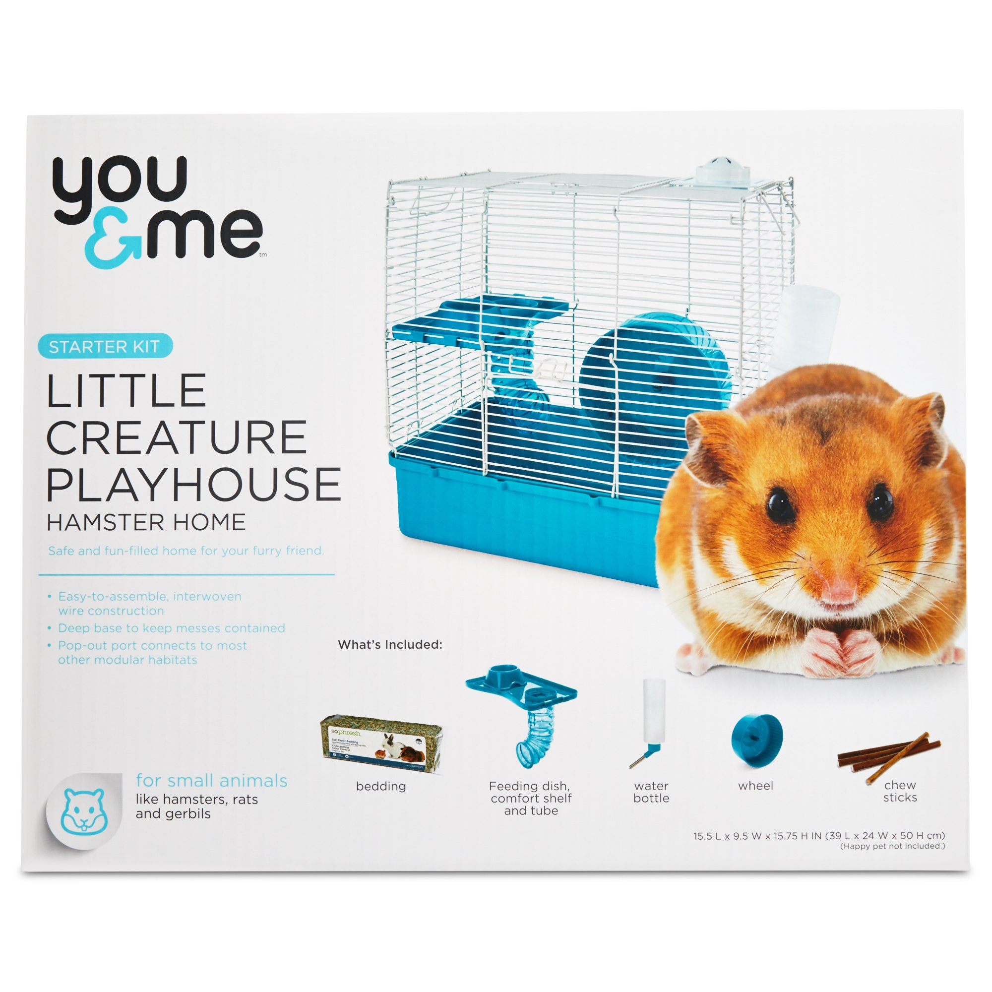You Me Hamster Starter Kit Small Animal Cage Pet Cage