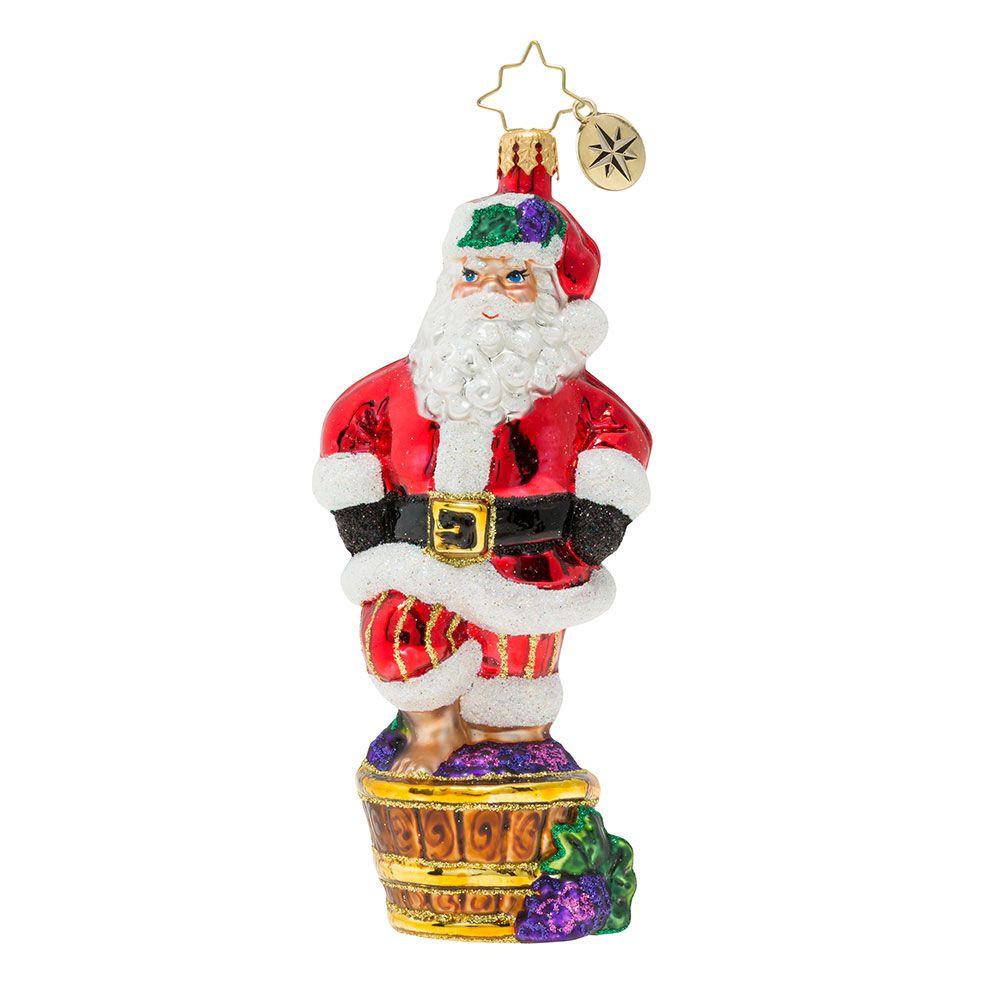 Christopher Radko Ornaments Santa S Christmas Spirit Ornament 1019874 Christopher Radko Ornaments Radko Ornaments Classic Christmas Decorations