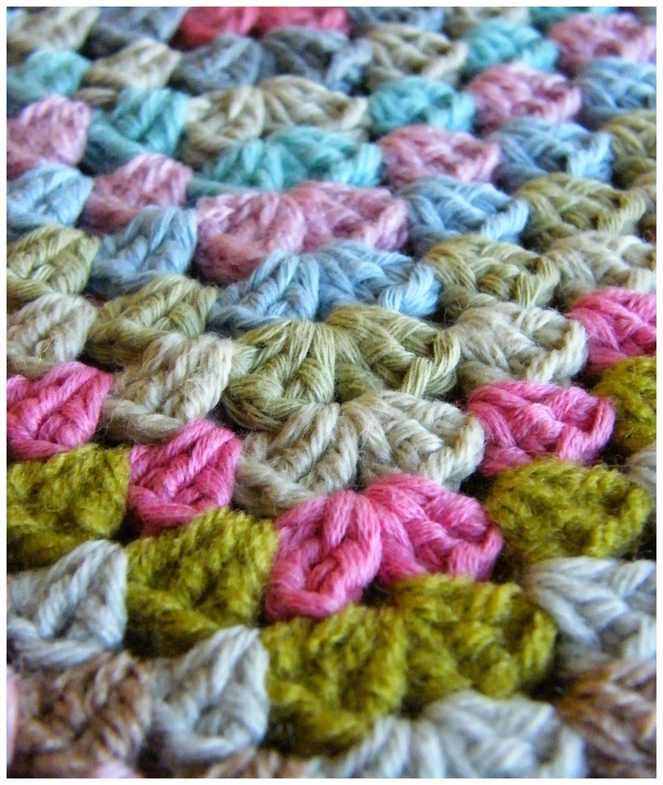 Annie\'s Place: Candy Coated Granny Square Happiness | Knitting and ...