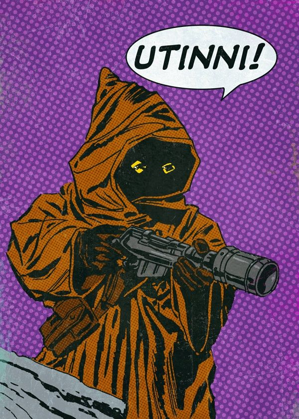 Star Wars Pop-Art Characters Displate Posters