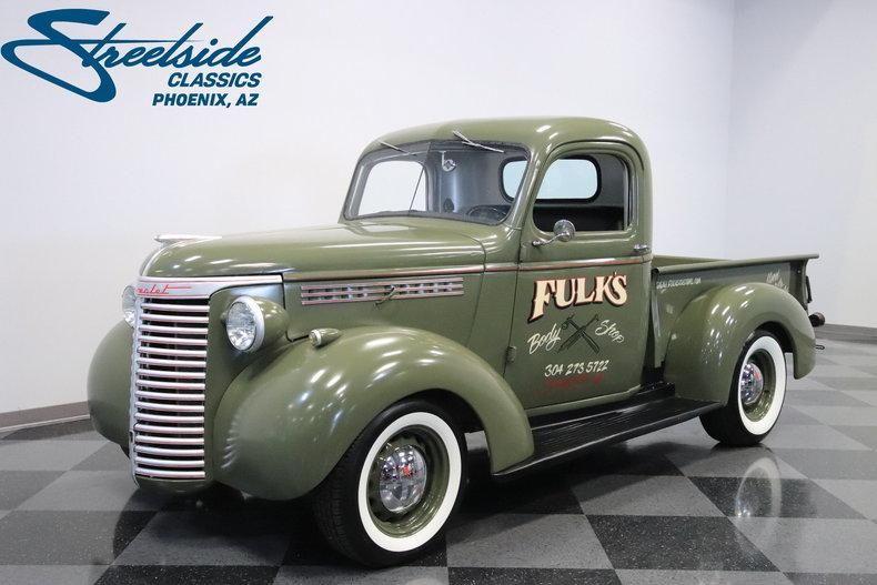 1940 Chevrolet 3 4 Ton Pickup Chevy Trucks Chevrolet Trucks Chevy