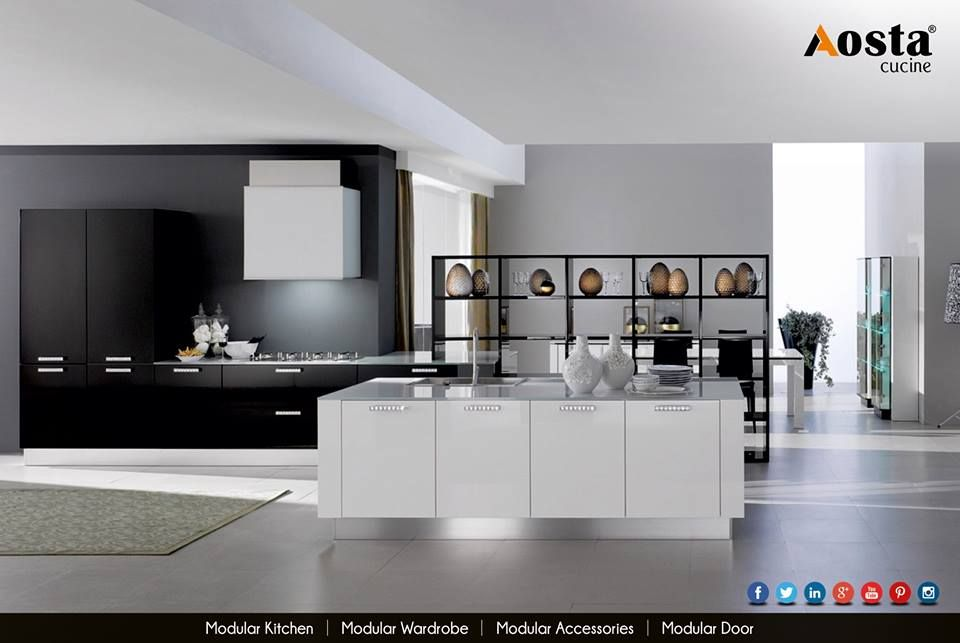 Modern Kitchen Modular aosta cucine is the perfect blend of design & modern kitchen craft