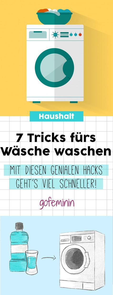 7 geniale haushalts hacks so wird w sche waschen viel einfacher haushalt pinterest. Black Bedroom Furniture Sets. Home Design Ideas