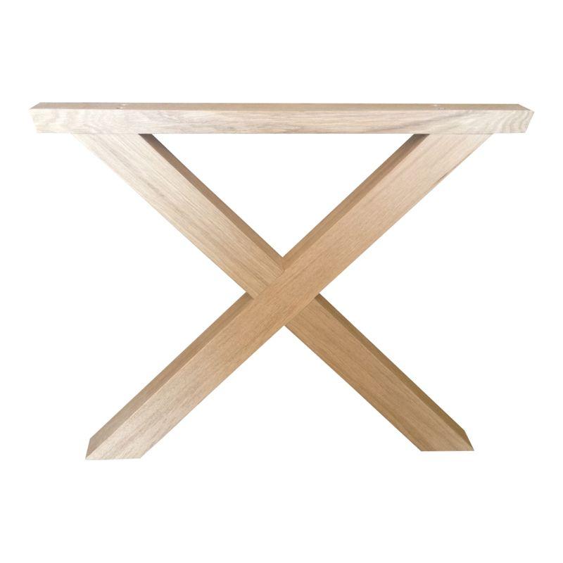 Disse stilfulde bordben udformet som en trapez er et virkelig ...