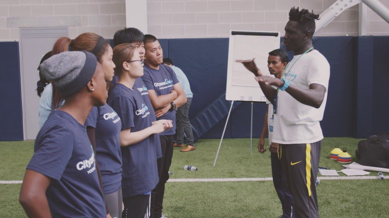 YOUNG LEADERS TAKE OVER AT MANCHESTER CITY! https://youtu.be/9g3bmVvsrAw