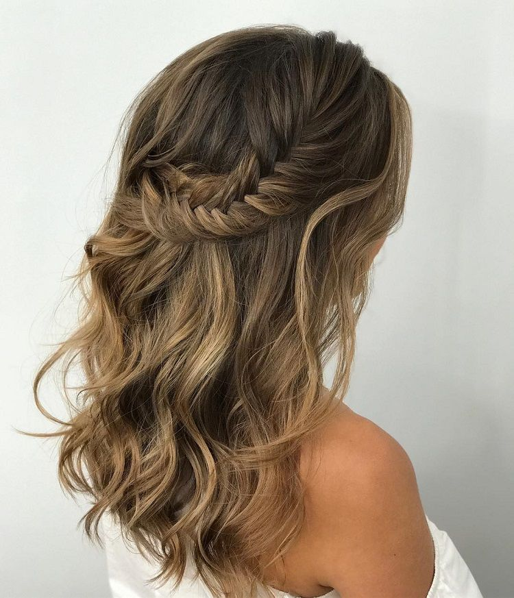 Gorgeous Ways To Wear Your Hair Down For Your Wedding Fabmood