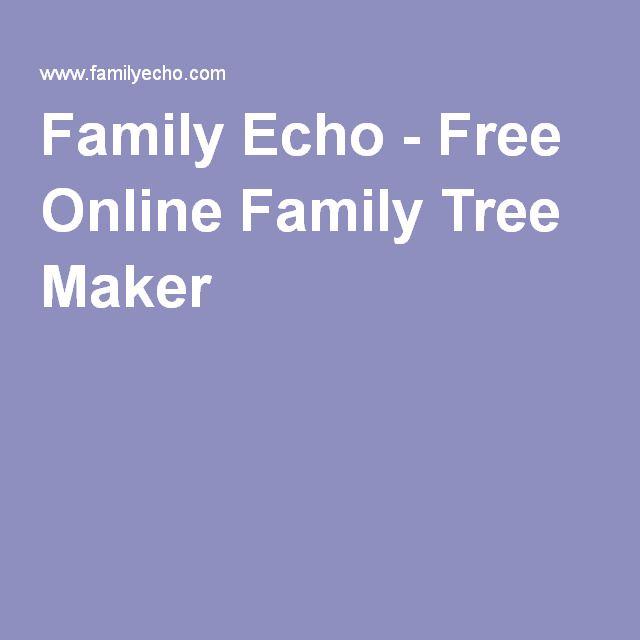 family echo free online family tree maker family tree stuff